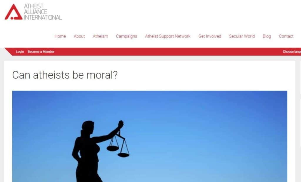 atheist alliance website
